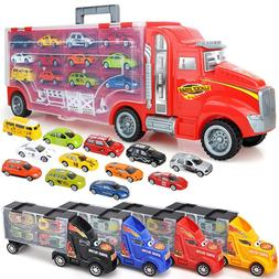 1/24 Scale Storage Container Truck Plastic Vehicles <font><b
