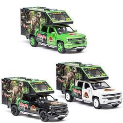 1:32 Chevrolet Jurassic World Dinosaur <font><b>Transporter<