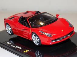 1/43 Mattell Hot Wheels 2011 Street Ferrari 458 Spider in Re