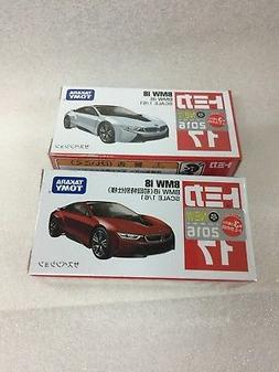 1/61 TOMICA 17 BMW i8  1ST PRODUCTION RED & WHITE hotwheels