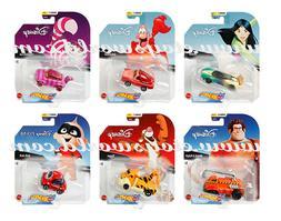 Hot Wheels 1:64 Disney Cartoon Character Cars 2020 H Assortm