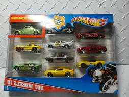 Hot Wheels 10 Car Gift Pack w/Exclusive Cars