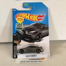 '17 Nissan GT-R #364 * GREY * 2017 Hot Wheels FACTORY SET *