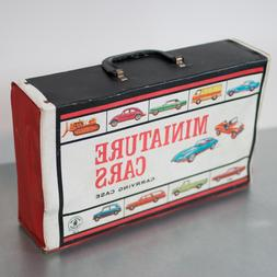 Mattel 1966 Vintage Miniature Cars Carrying Case Hot Wheels