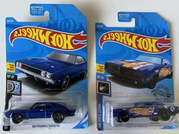 1969 Dodge Charger 500 & 1969 Charger Racing Hot Wheels 1:64