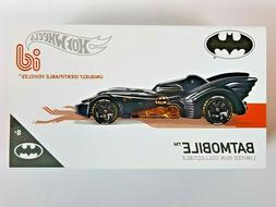 Hot  Wheels ID 1989 Batmobile DC Comics Limited Run Collecti