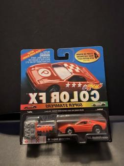 1994 Hot Wheels Color FX Super Stampers Ferrari 308 NIP
