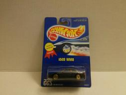 1995 Hot Wheels BMW 850i Collector No. 255 Gold UH Wheel Var