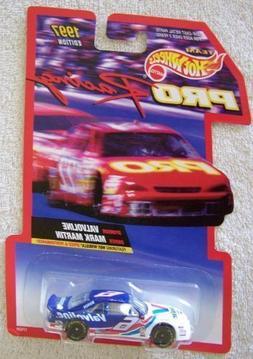 1997 Edition Team Hot Wheels Pro Racing Mark Martin #6 Valvo