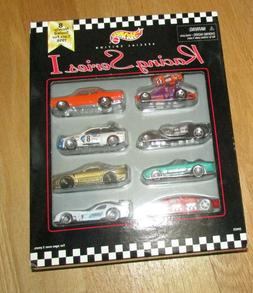 1998 Hot Wheels Toys R Us Racing Series I 8 cars pack Firebi