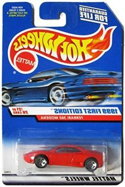 1999 First Editions -#21 Ferrari 360 Modena Hot Wheels Logo