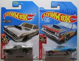 Hot Wheels 2 car set 2018 69 Coronet Superbee 206/365 $ 2017