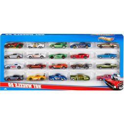 Hot Wheels 20 Car Gift Pack Styles May Vary Standard Packagi