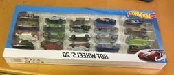 Hot Wheels 20 Car Gift Pack  Very Nice!!!!!!!!