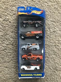 2000 Hot Wheels HARLEY-DAVIDSON 5 Car Gift Pack 40's ,56 , F