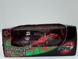 2002 Hot Wheels 100% Psychedelic Relics Twin Mill Red Baron