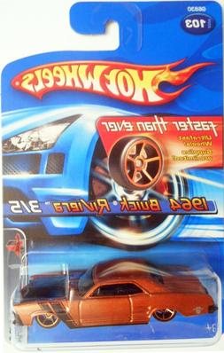 HOT WHEELS 2005  FASTER THAN EVER MUSCLE MANIA SERIES 1964 B