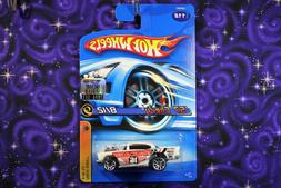 2006 Hot Wheels 57 Chevy Track Aces White #118 From Factory