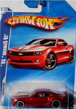 Hot Wheels 2010 Camaro SS Red # 06/10 HW Garage, 1:64 Scale