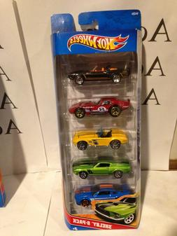 Hot Wheels 2010 Carroll Shelby Tribute 5-Pack Die cast vehic