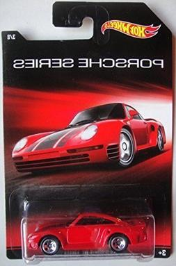 Hot Wheels 2010 HW Racing Series #107 '56 Ford Panel Red w/
