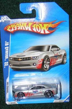 2010 HOT WHEELS NEW MODELS 43/44 SILVER & BLUE DODGE CHARGER