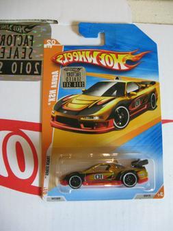 Hot Wheels 2010 RLC Factory Set   ACURA NSX GOLD Track Stars