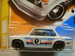 2012 Hot Wheels #21 - BMW 2002 - 2012 New Models - White