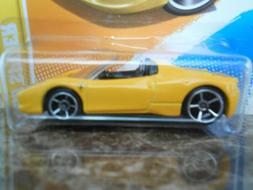 2012 Hot Wheels New Models 458 SPIDER YELLOW C