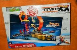 2012 HOT WHEELS Stunt Devils HWTF Track Set + Car / Test Fac
