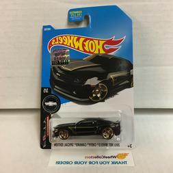 2013 Chevy Camaro Special #180 * Black * 2017 Hot Wheels Fac
