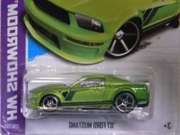 Hot Wheels 2013 Hw Showroom Then and Now '07 Ford Mustang 5