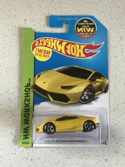 Hot Wheels 2014 HW Workshop Lamborghini Huracan LP610-4 Yell