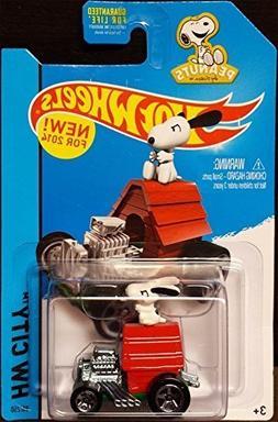 Hot Wheels 2014 HW City Peanuts Snoopy 88/250