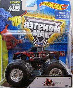 2014 Hot Wheels Monster Jam Northern Nightmare Truck with Ba