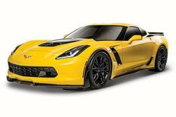 Maisto 2015 Chevy Corvette Z06, Yellow 31133 - 1/24 Scale Di