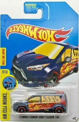 2015 HOT WHEELS FORD TRANSIT CONNECT HW CITY WORKS TREASURE