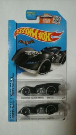 Hot Wheels 2015 HW City Batman - Arkham Asylum Batmobile 64/