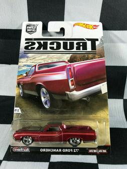 HOT WHEELS 2016 Car Culture TRUCKS '72 FORD RANCHERO
