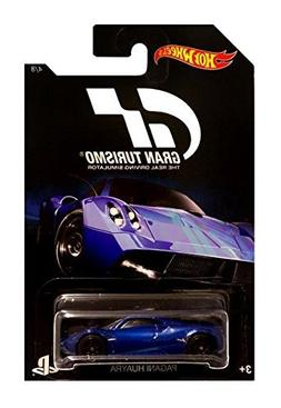 Hot Wheels 2016 Gran Turismo Pagani Huayra 4/8, Blue