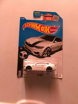 HOT WHEELS 2016 HW BMW 4/5 - BMW M4 WHITE