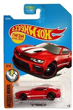 Hot Wheels 2016 Muscle Mania '16 Camaro SS 129/250, Red