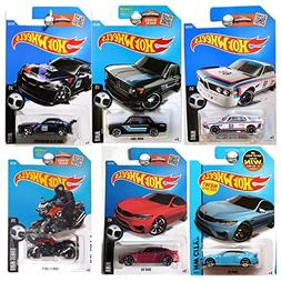 BMW 2016 Hot Wheels Collection + M4 Series Blue & Red / Z4 /