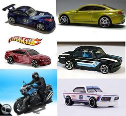 BMW 2016 Hot Wheels Collection + M4 Series Gold & Red / Z4 /