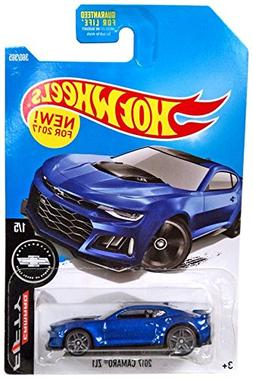 Hot Wheels 2017 Camaro Fifty 2017 Camaro ZL1 360/365, Blue