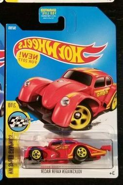2017 HOT WHEELS Custom Volkswagen Kafer Racer Red VW  **Make