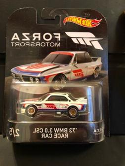 Hot Wheels 2017 Forza Motorsport '73 BMW 3.0 CSL Race Car Re