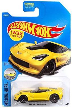 Hot Wheels 2017 Factory Fresh Corvette C7 Z06 128/365, Yello