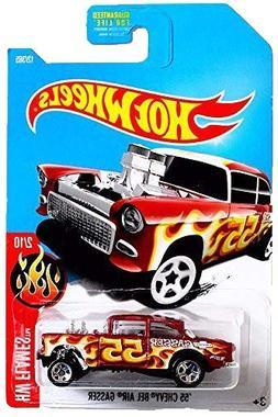 Hot Wheels 2017 HW Flames '55 Chevy Bel Air Gasser 12/365, M
