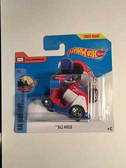 Hot Wheels 2017 HW Ride-Ons Boom Car  66/365, Red, White, an